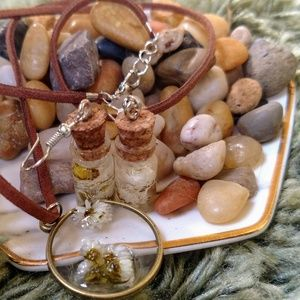 Handcrafted Jewelry - 🌼Handcrafted Necklace | Boho Floral 🌼